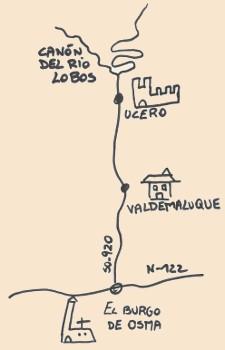 Mapa de Situación de Valdemaluque