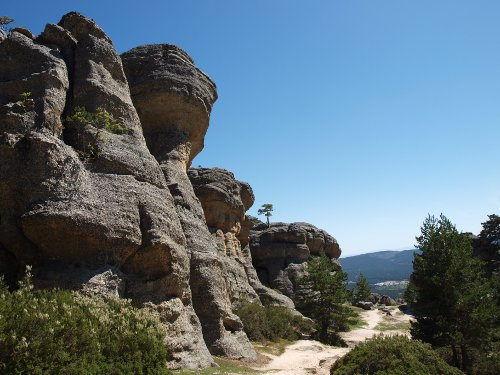 Rock formations at Castroviejo
